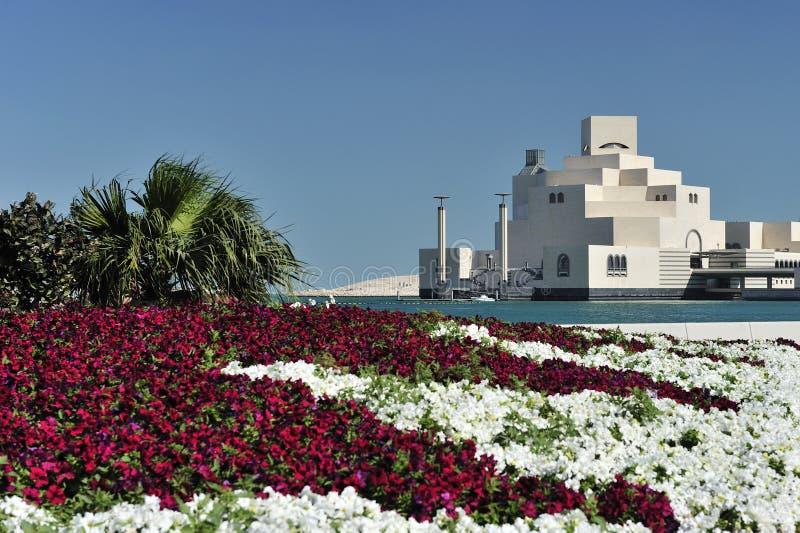 Museo del arte islámico, Doha, Qatar fotografía de archivo
