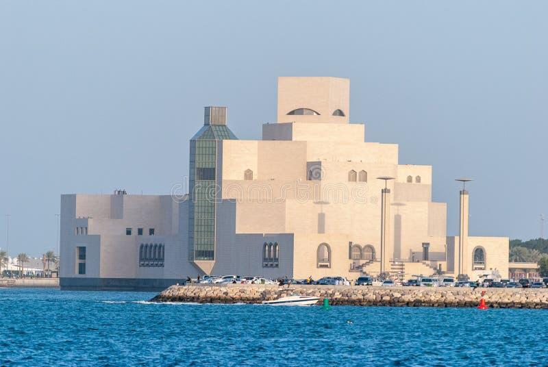Museo del arte islámico en Doha, Qatar foto de archivo