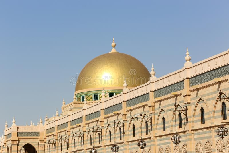 Museo del arte islámico Sharja, UAE foto de archivo