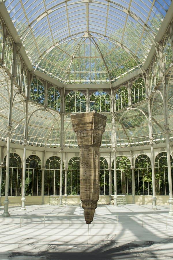 Museo del arte moderno en Madrid, España fotografía de archivo libre de regalías