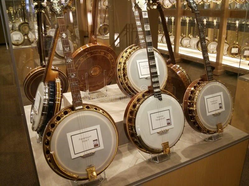 Museo del banjo foto de archivo