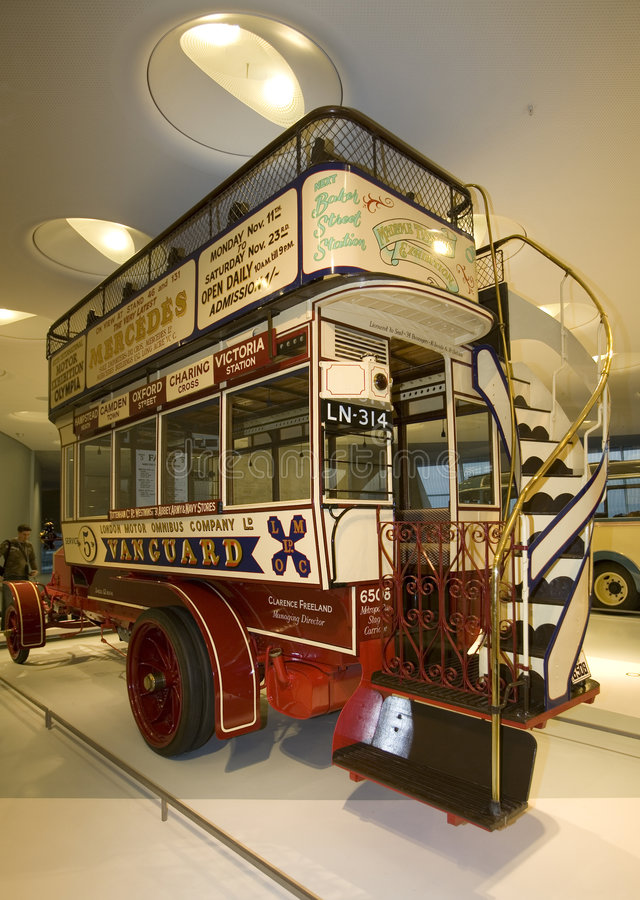 Museo del Benz de Mercedes imagenes de archivo