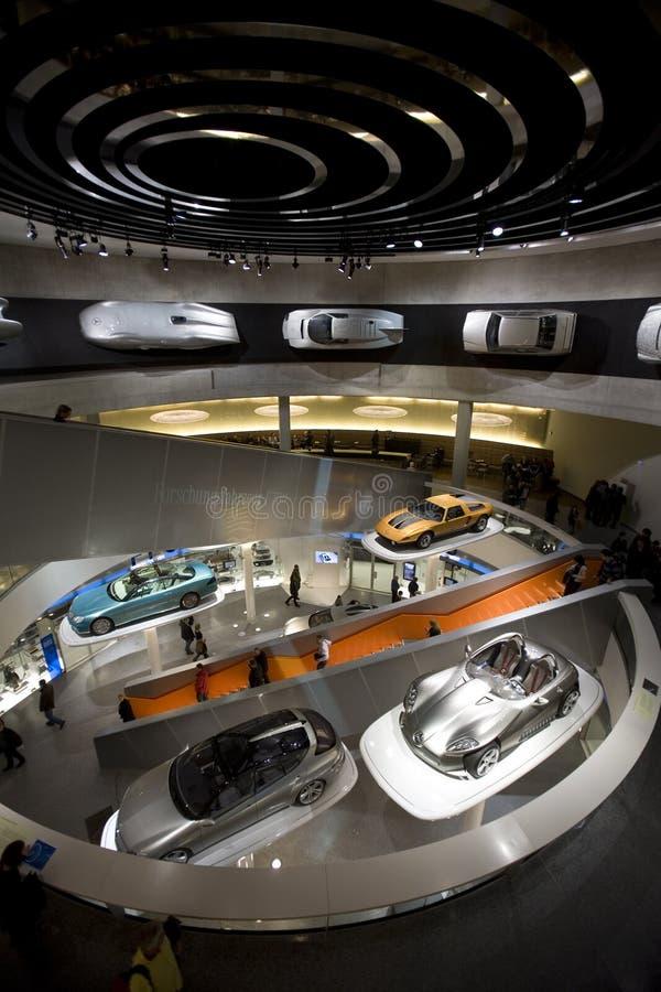 Museo del Benz de Mercedes foto de archivo