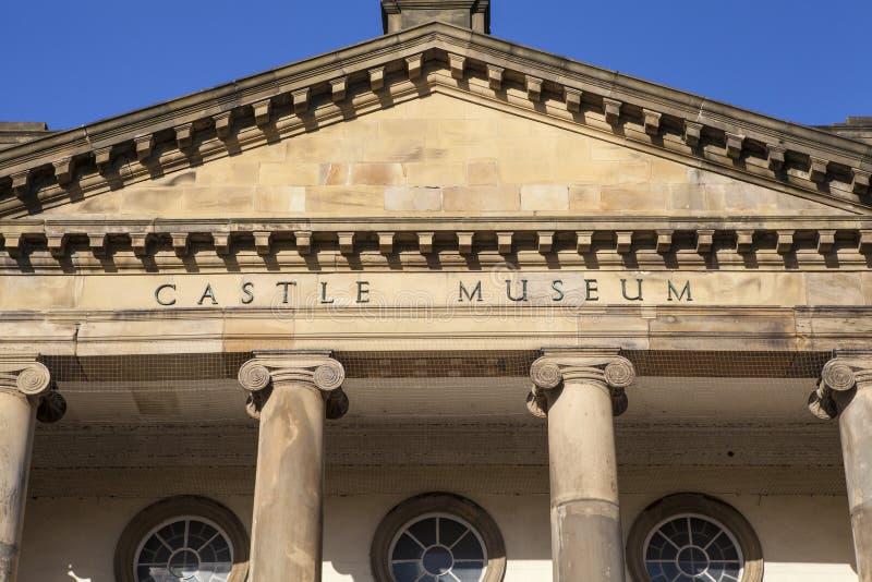 Museo del castillo de York imagen de archivo