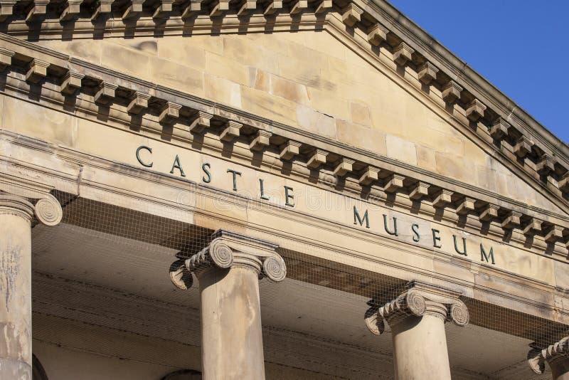 Museo del castillo de York foto de archivo