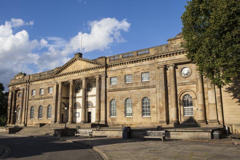 Museo del castillo de York imagenes de archivo