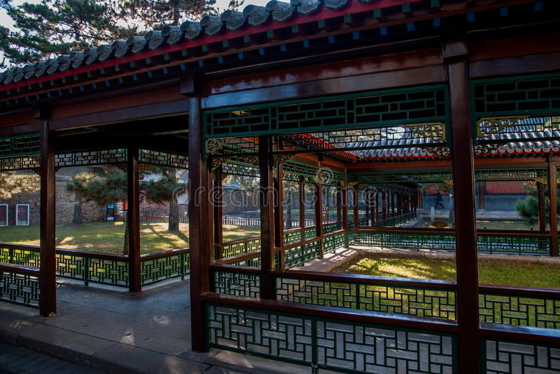 Museo del centro turístico de montaña de Hebei Chengde imagen de archivo