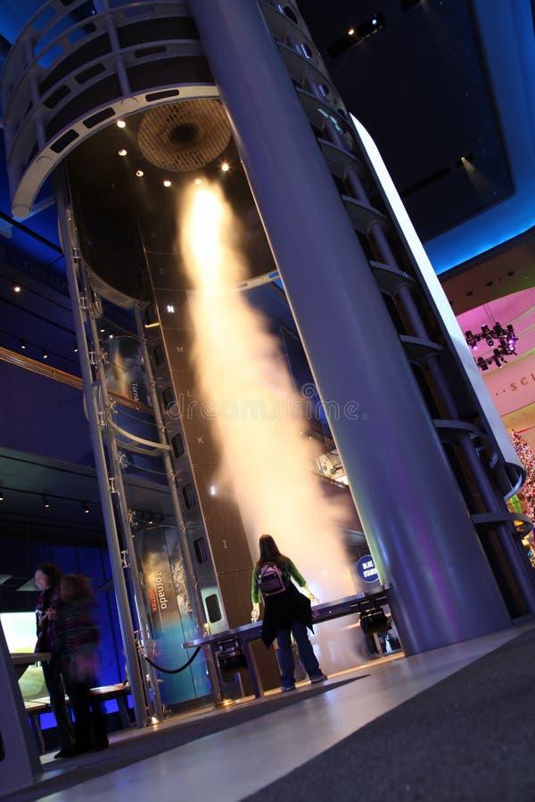 Museo del Chicago di scienza e di industria fotografie stock