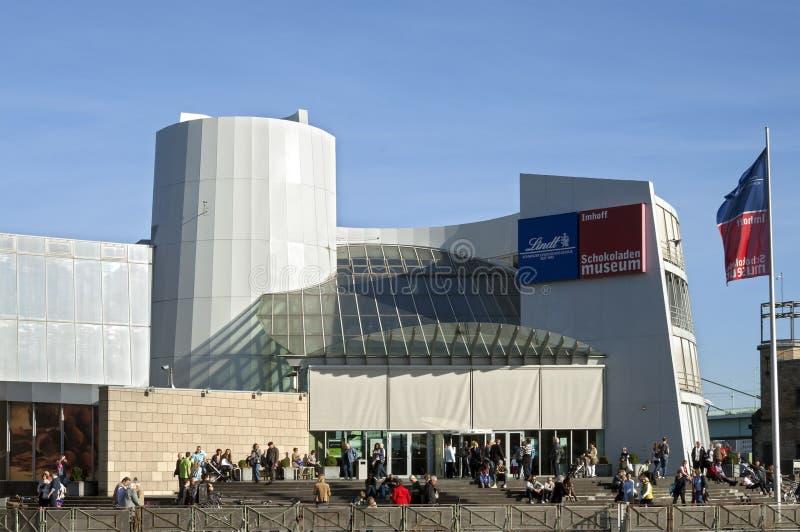 Museo del cioccolato di Colonia, Germania fotografia stock libera da diritti