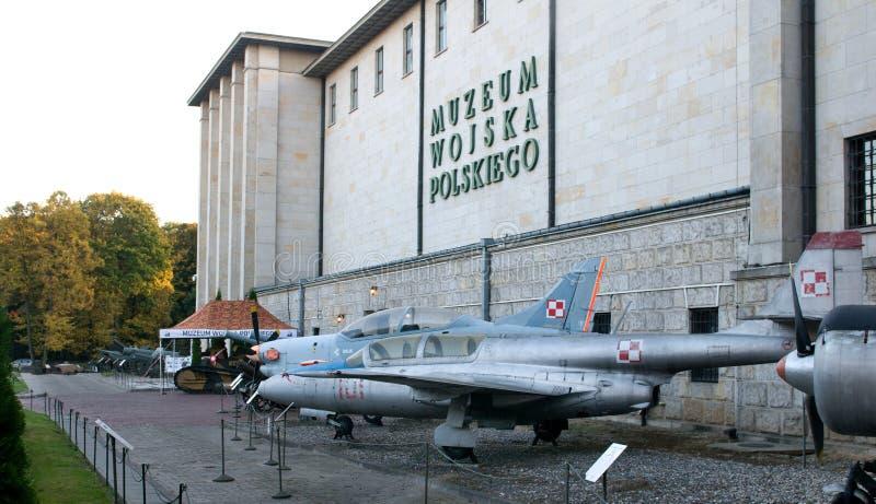 Museo del ejército polaco fotos de archivo