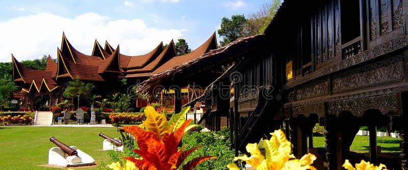 Museo del estado de Negeri Sembilan/centro complejo fotos de archivo