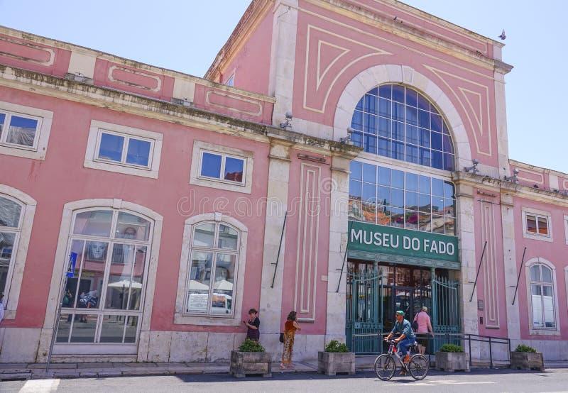 Museo del Fado en Lisboa - muy popular en Portugal imagen de archivo libre de regalías