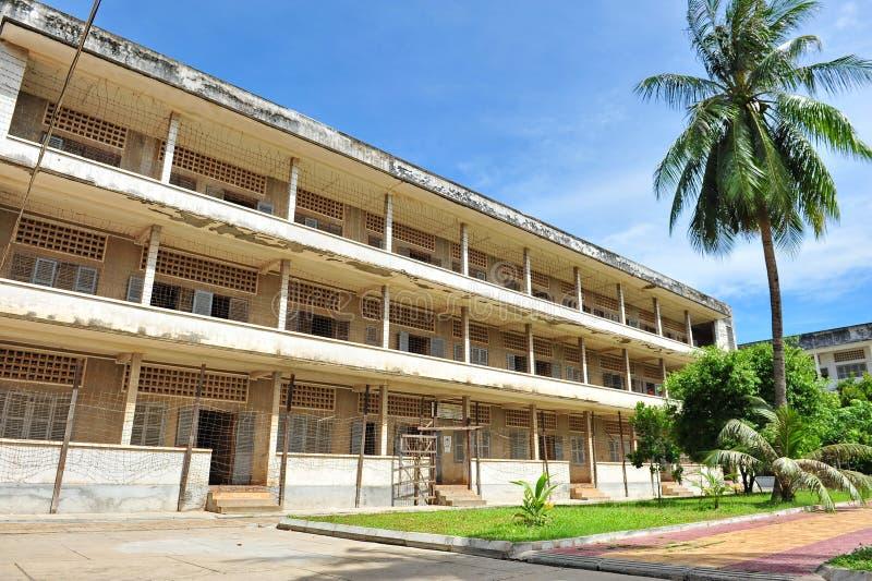Museo del genocidio de S21 Tuol Sleng fotos de archivo