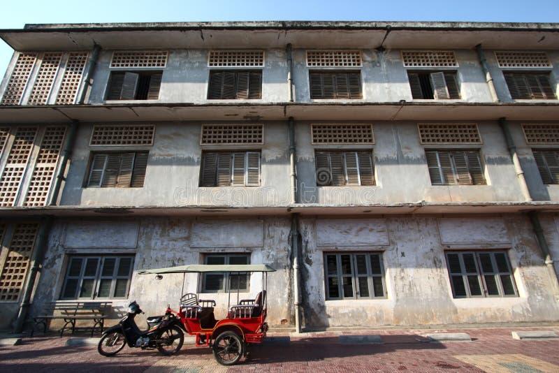 Museo del genocidio de S21 Tuol Sleng fotografía de archivo