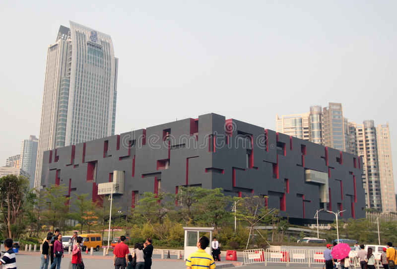 Museo del Guangdong immagine stock