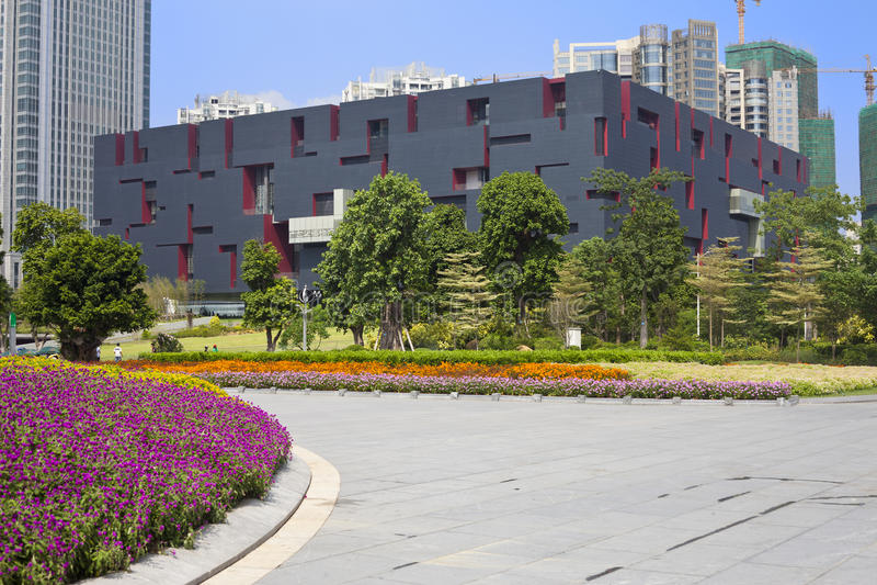 Museo del Guangdong fotografie stock