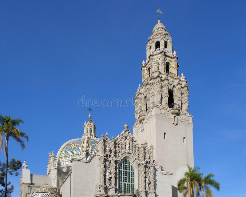 Museo del hombre, parque del balboa, San Diego foto de archivo libre de regalías