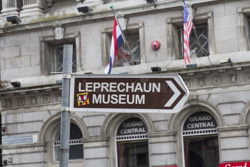 Museo del leprechaun, Dublino fotografie stock