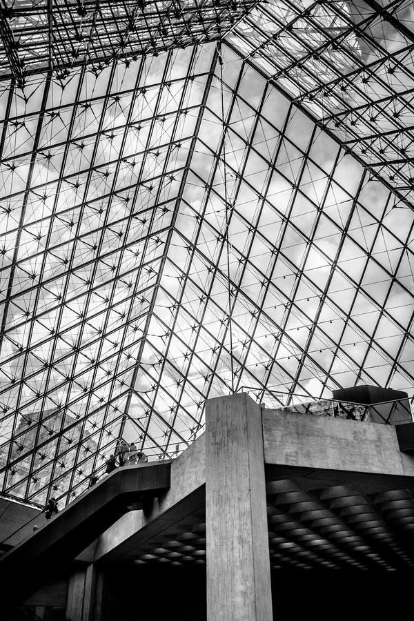 Museo del Louvre immagine stock libera da diritti