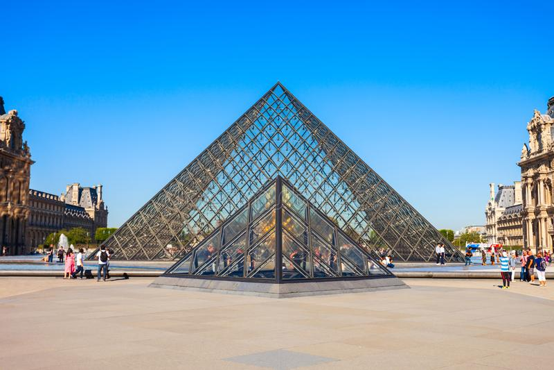Museo del Louvre en Par?s foto de archivo