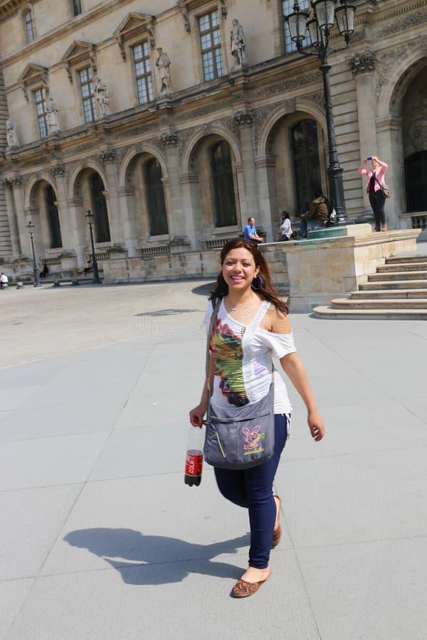 Museo del Louvre - Parigi fotografia stock