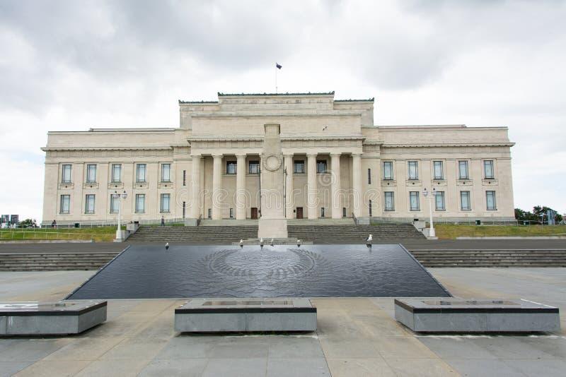 Museo del monumento de guerra de Auckland imagen de archivo libre de regalías