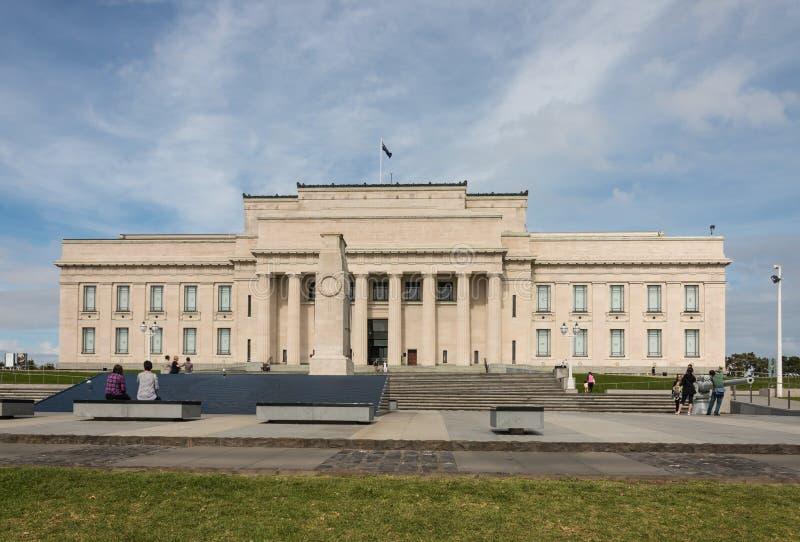 Museo del monumento de guerra de Auckland imagen de archivo