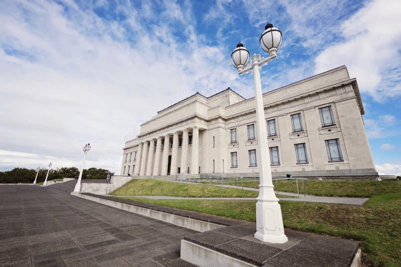 Museo del monumento de guerra de Auckland fotografía de archivo