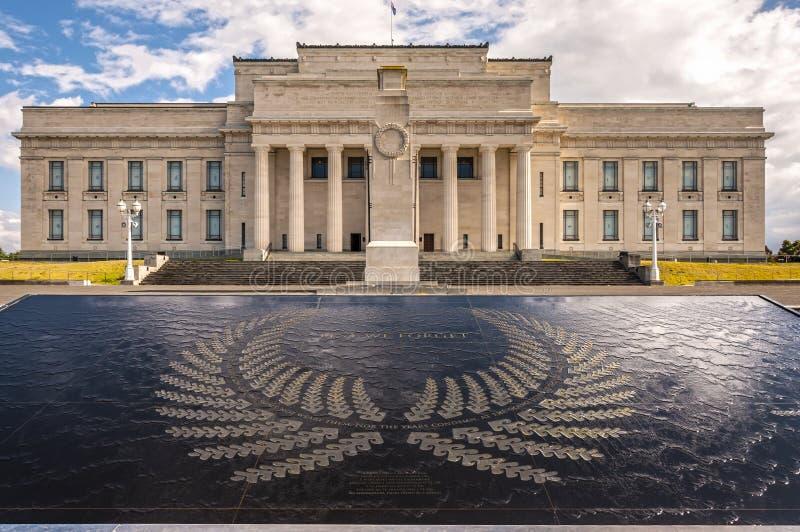 Museo del monumento de guerra de Auckland foto de archivo libre de regalías