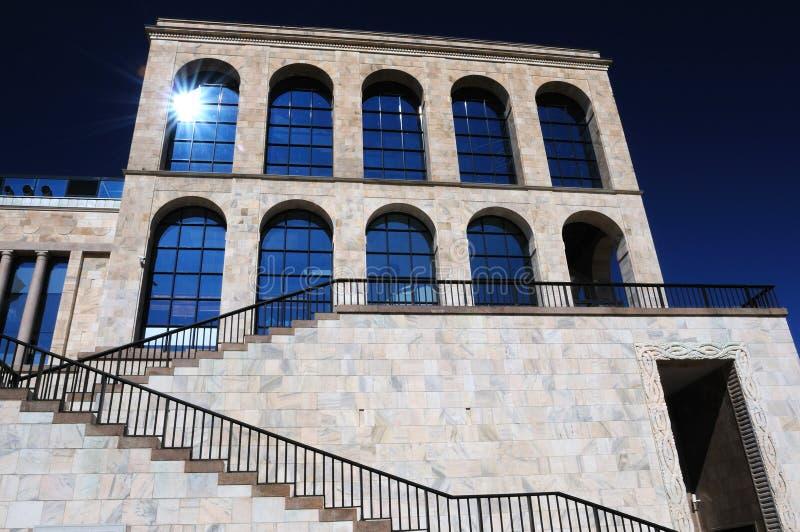 Museo del Novecento a Milano, Italia fotografia stock