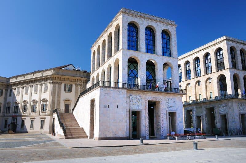 Museo del Novecento a Milano, Italia fotografia stock libera da diritti