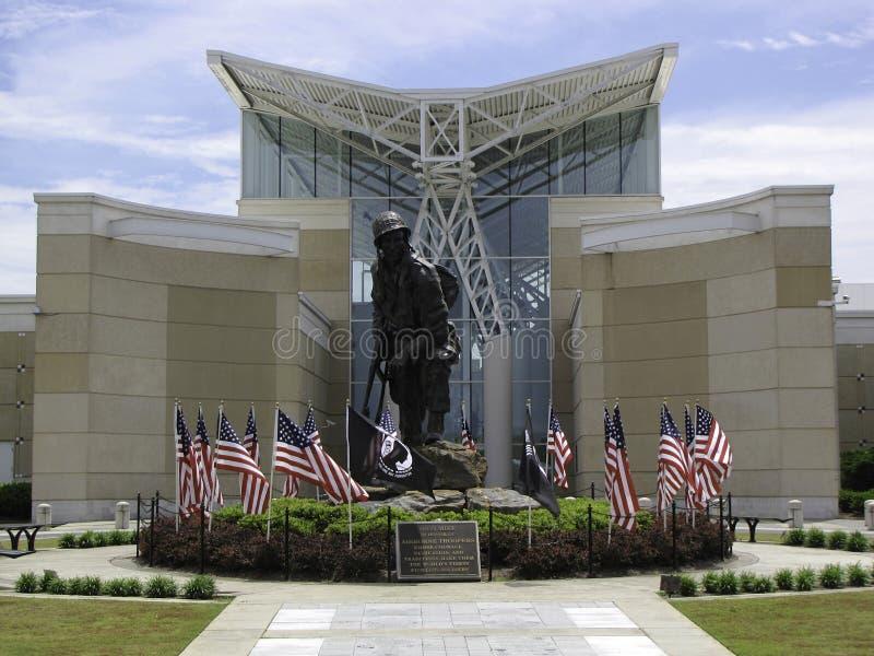 Museo del paracaidista fotografía de archivo