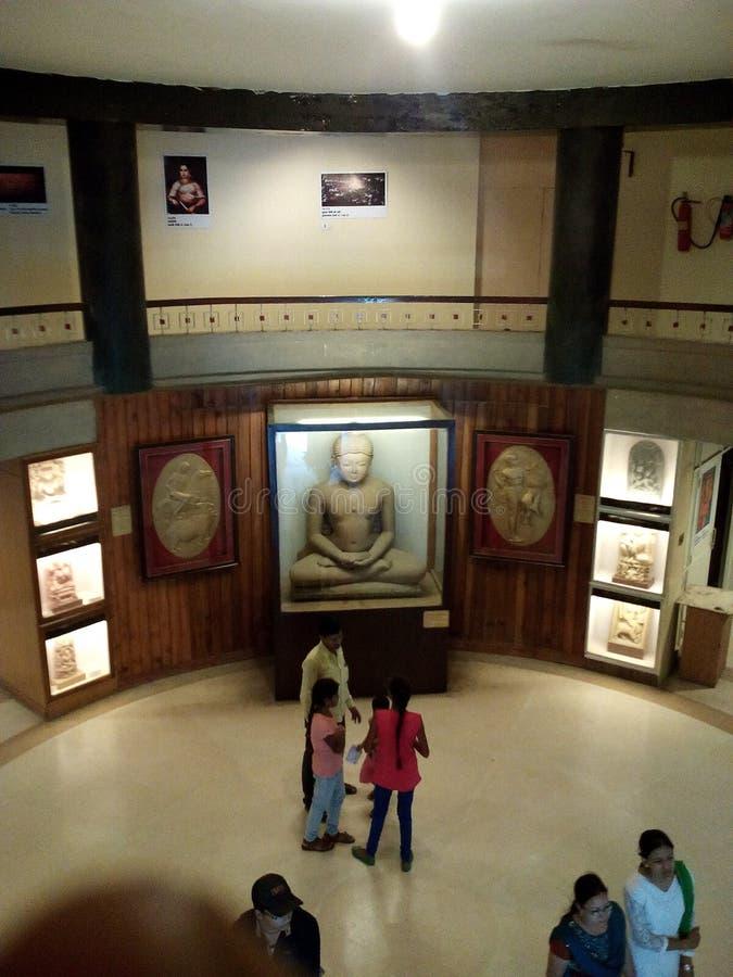 MUSEO DEL PARQUE ZOOLÓGICO DE LUCKNOW - MUSEO DEL ESTADO foto de archivo