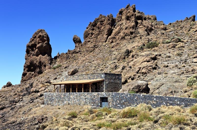 Museo del pastore Juan Evora, Teide, Tenerife immagini stock libere da diritti