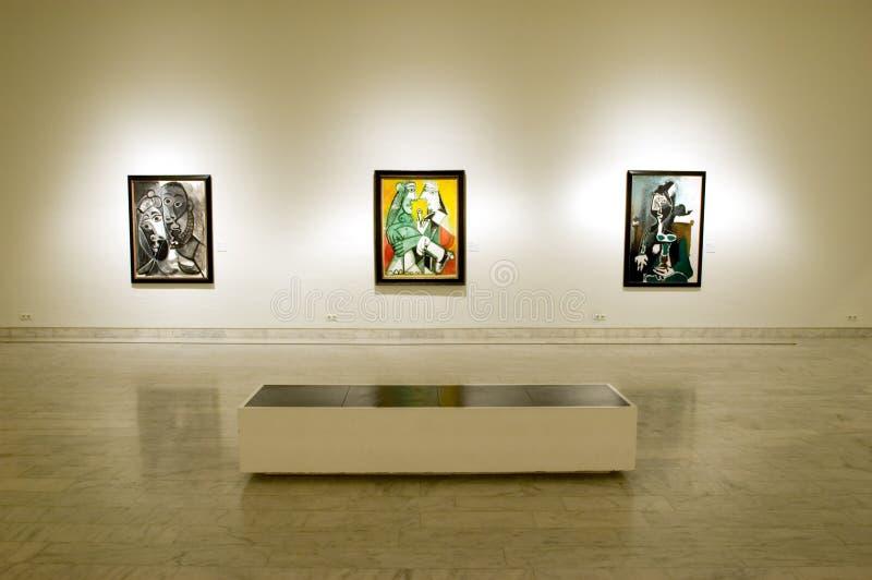 Museo del Picasso di Barcellona immagine stock libera da diritti