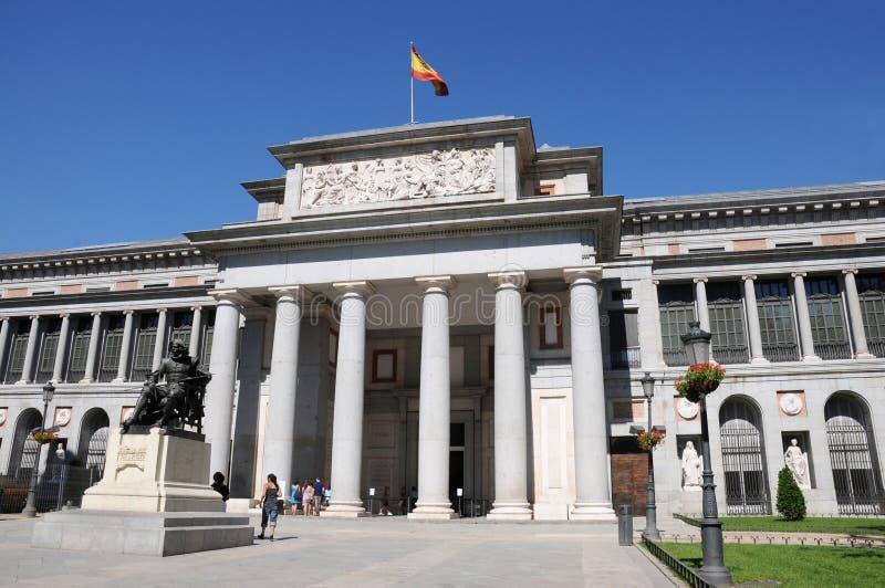 Museo del Prado immagine stock libera da diritti