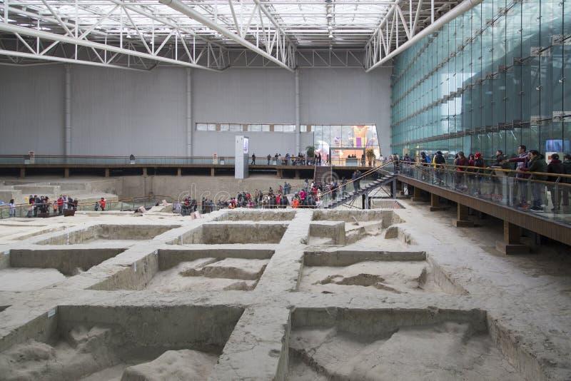 Museo del sito di Jinsha fotografia stock