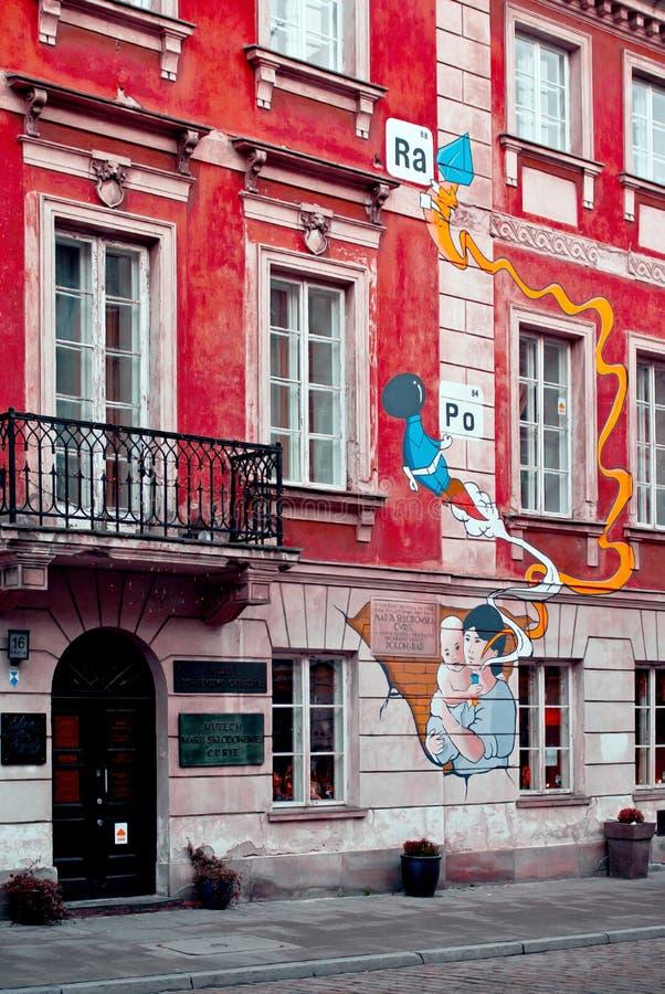 Museo del Sklodowska-curie - Polonia foto de archivo libre de regalías