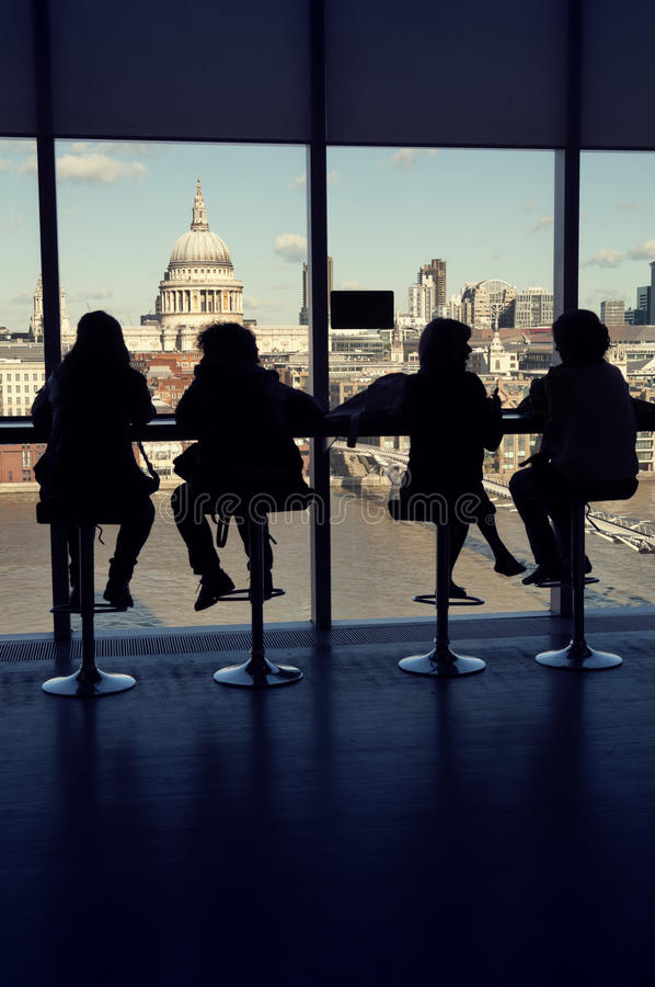 Museo del Tate Modern, Londra fotografie stock libere da diritti
