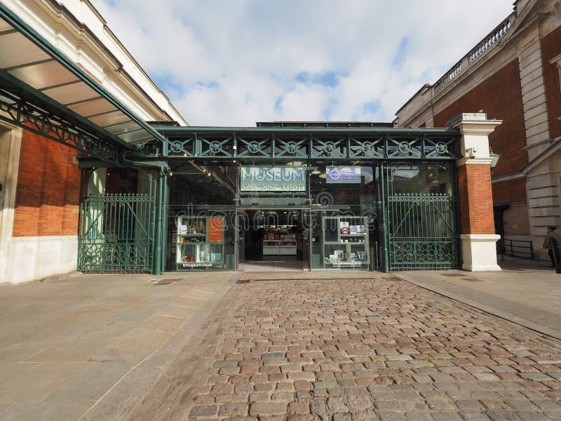 Museo del transporte de Londres fotos de archivo