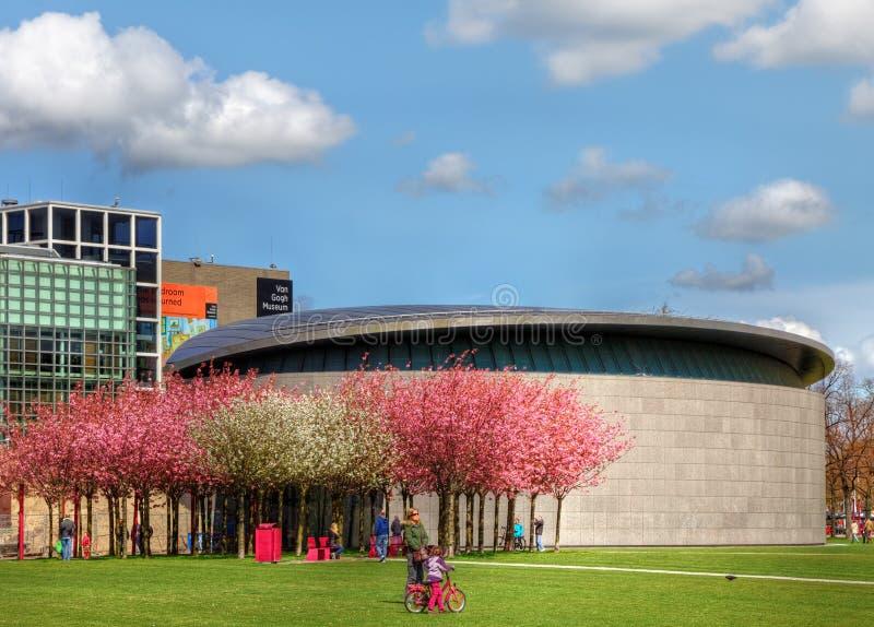 Museo del Van Gogh a Amsterdam immagine stock