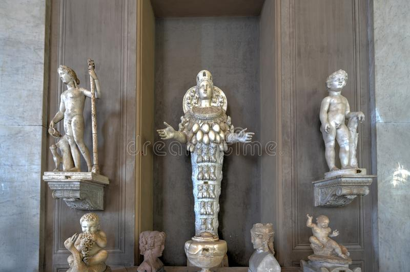 Museo del Vaticano - Ciudad del Vaticano imágenes de archivo libres de regalías