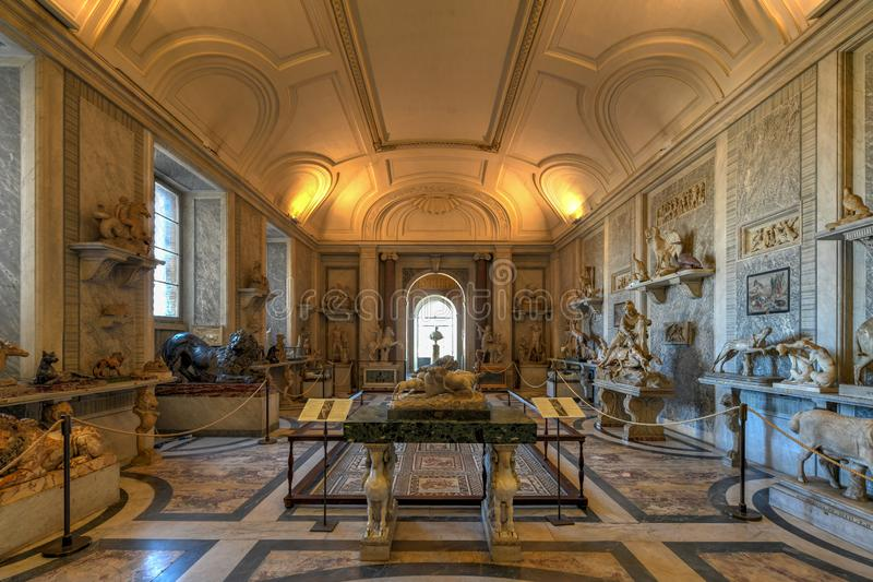 Museo del Vaticano - Ciudad del Vaticano fotografía de archivo libre de regalías