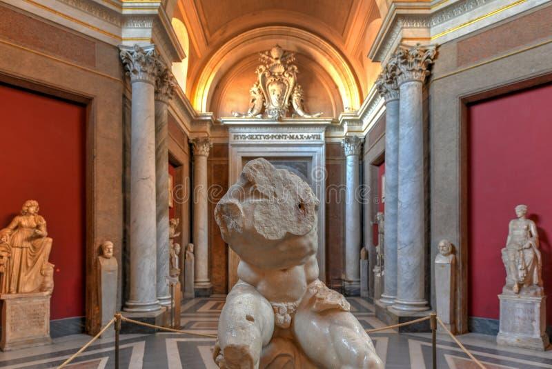 Museo del Vaticano - Ciudad del Vaticano foto de archivo libre de regalías