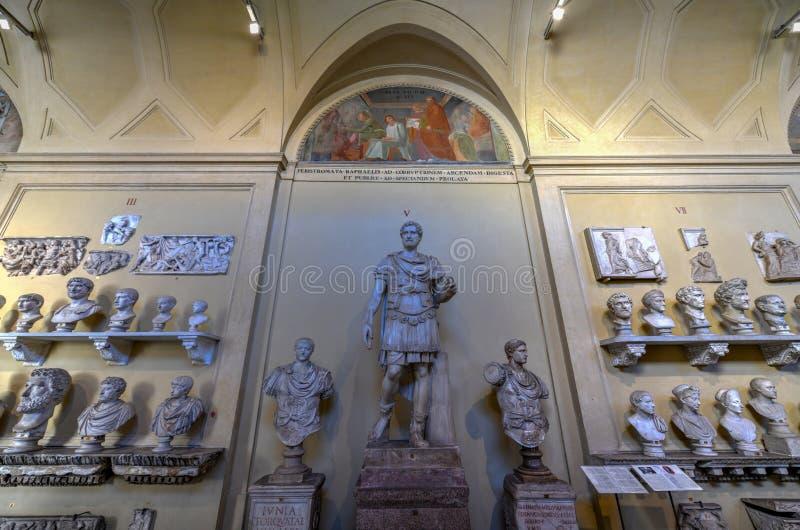 Museo del Vaticano - Ciudad del Vaticano imagenes de archivo