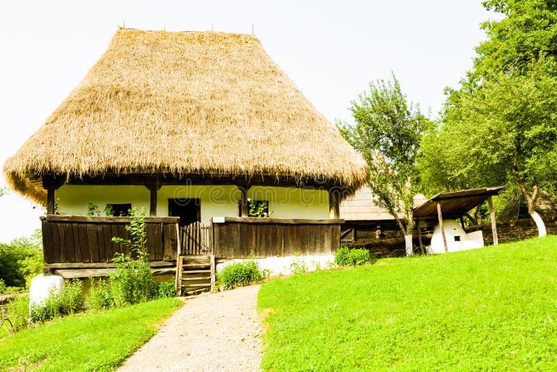 Museo del villaggio, Sibiu fotografia stock libera da diritti