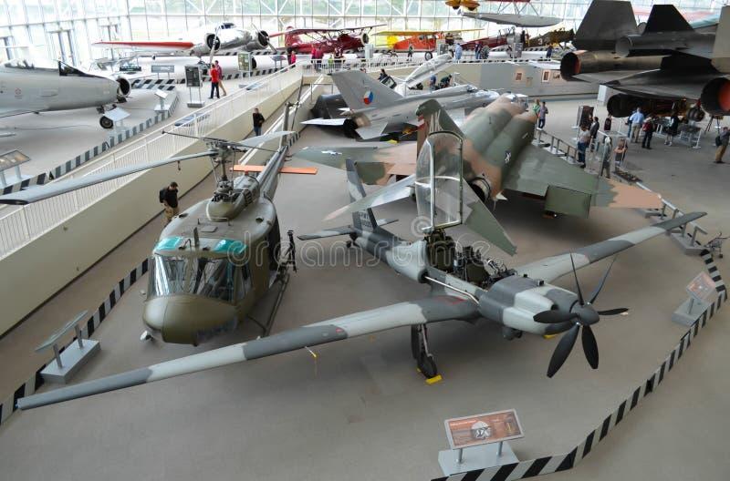 Museo del volo Seattle immagine stock