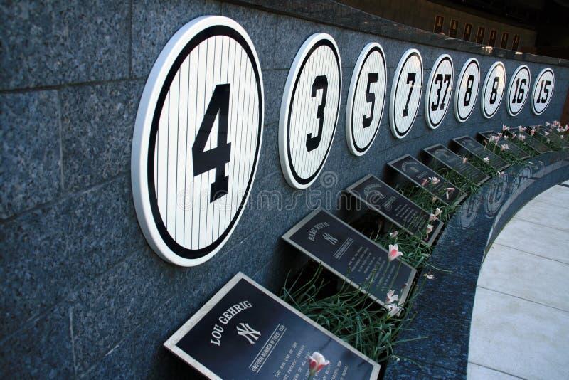 Museo del Yankee Stadium - New York immagini stock