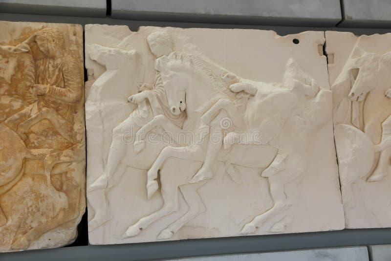 Museo dell'acropoli, Atene fotografie stock