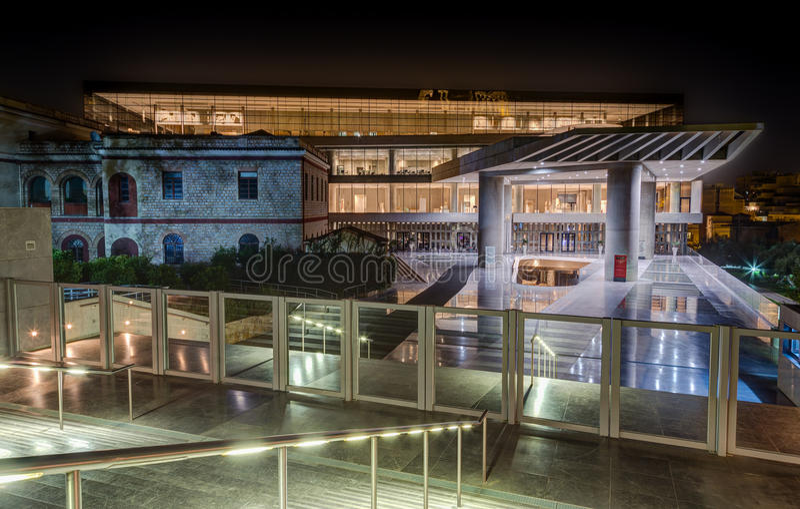 Museo dell'acropoli, Atene, Grecia immagini stock libere da diritti